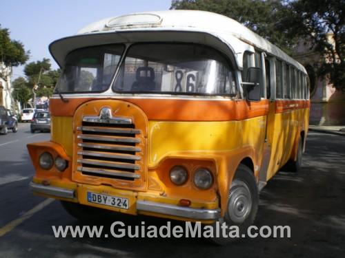 Autobús Malta